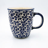 Christmas Set: Hand-Decorated Polish Pottery Mug Classic Design with Sedno Organic Aronia Juicer