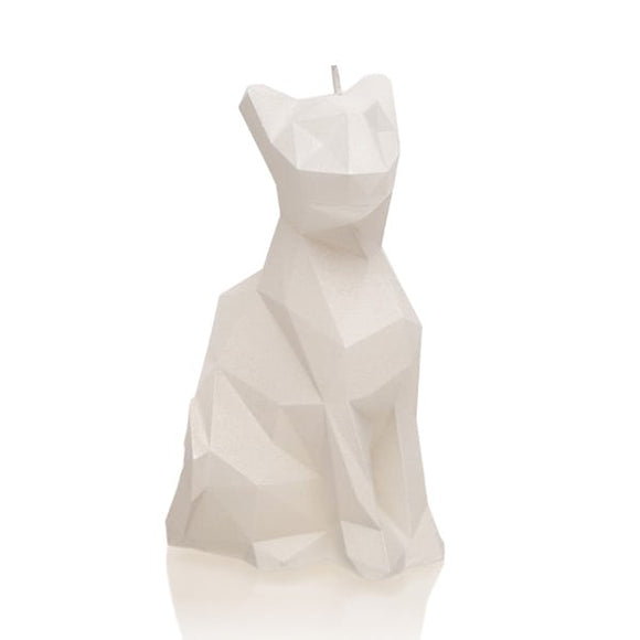 CAT LOW POLY UNSCENTED CANDLE - Forkandpillow