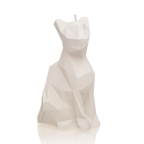 CAT LOW POLY UNSCENTED CANDLE