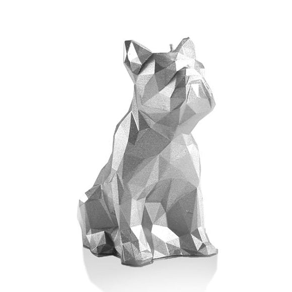 BULLDOG LOW POLY UNSCENTED CANDLE - Forkandpillow