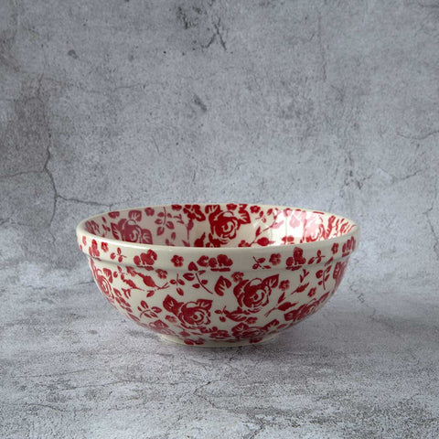 ROSES GZ32 HAND-DECORATED CERAMIC SIDE BOWL 14 CM X 6.3 CM - Forkandpillow