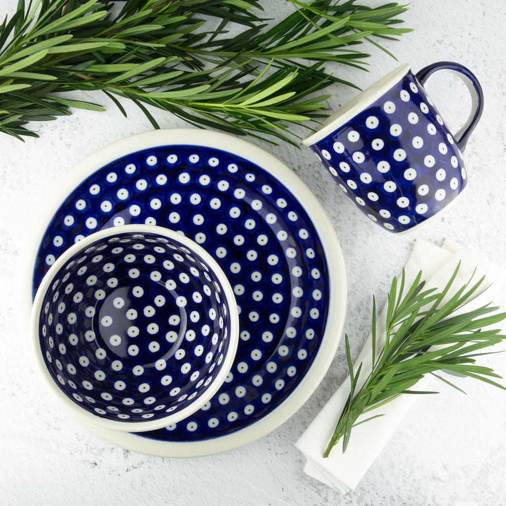 42 HAND-DECORATED BREAKFAST SET - Forkandpillow