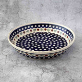 41 HAND-DECORATED DISH PIE PLATE - Forkandpillow
