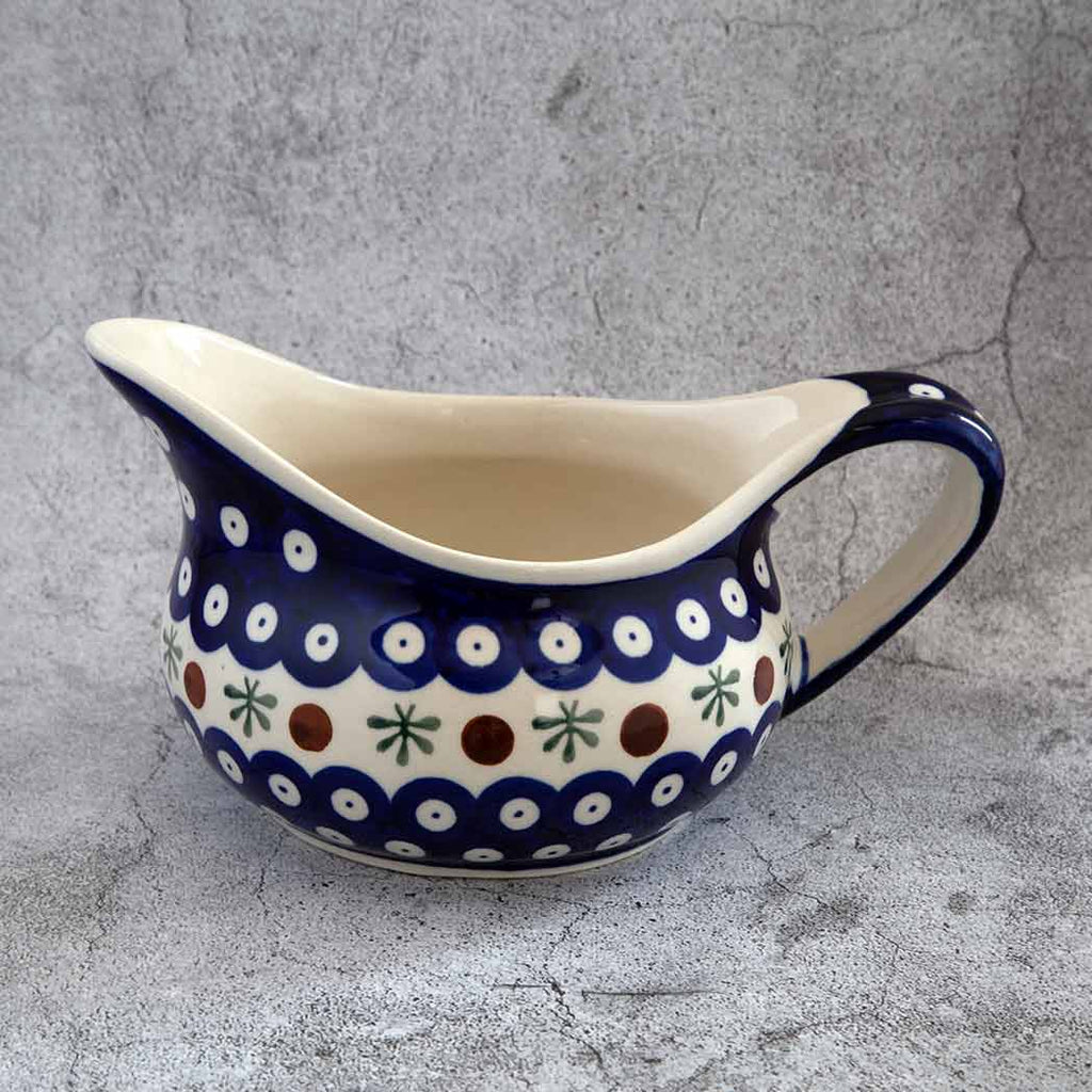41 HAND-DECORATED GRAVY BOAT