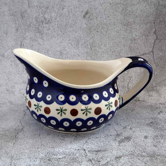41 HAND-DECORATED GRAVY BOAT - Forkandpillow