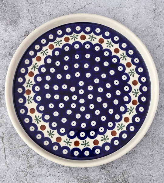 41 HAND-DECORATED COOKIE PLATE - Forkandpillow