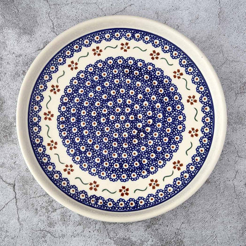 864 HAND-DECORATED COOKIE PLATE