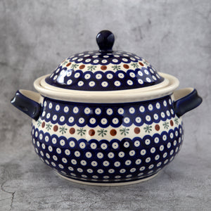 41 HAND-DECORATED SOUP TUREEN - Forkandpillow