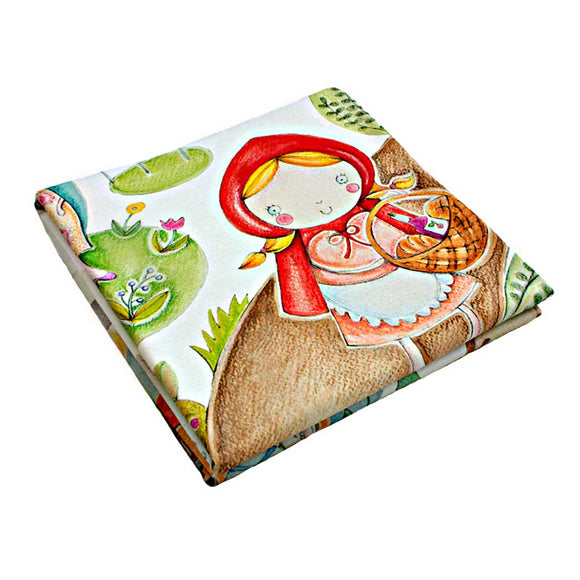 LITTLE RED RIDING HOOD BABY BLANKET SIZE 120×120 CM - Forkandpillow