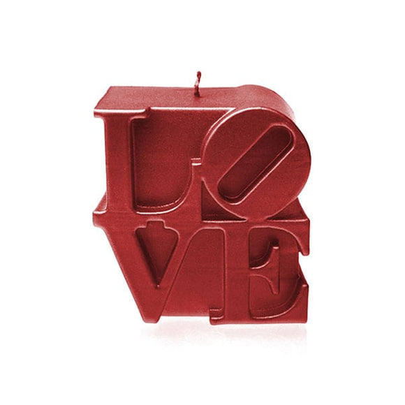 LOVE SIGN UNSCENTED CANDLE - Forkandpillow