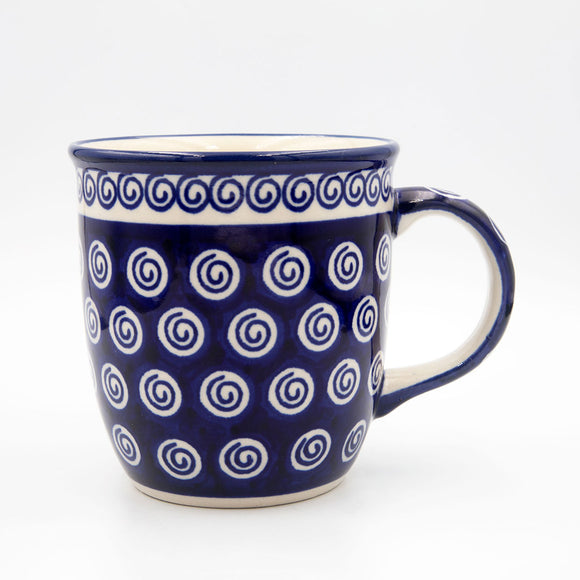 174 blue swirl coffee tea mug
