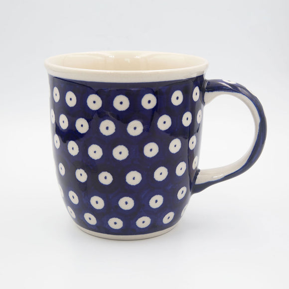 42 polka dot hand-decorated coffe tea mug