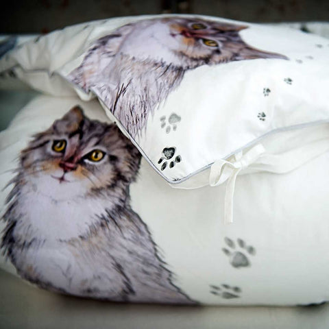 PUSS IN BOOTS DUVET AND PILLOWCASE SIZE 80×100 CM - Forkandpillow