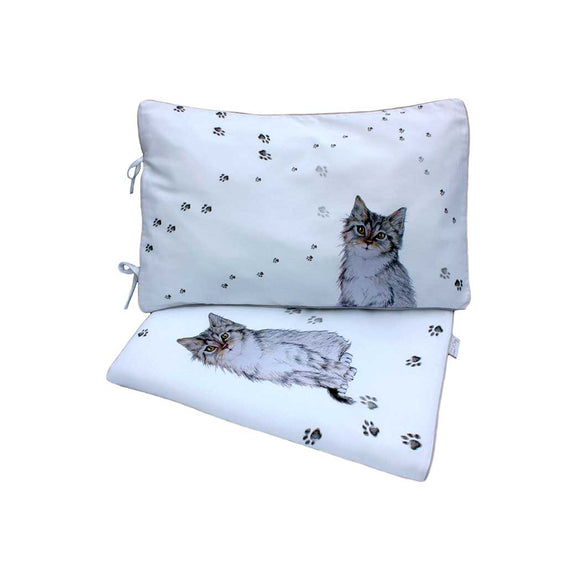 PUSS IN BOOTS BABY DUVET AND PILLOWCASE SET SIZE 80×100 CM - Forkandpillow