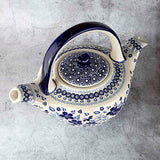 Blue & White SB01 Hand-Decorated Teapot 1l
