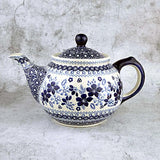 Blue & White SB01 Hand-Decorated Teapot 0.7l