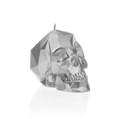 SMALL SKULL UNSCENTED CANDLE