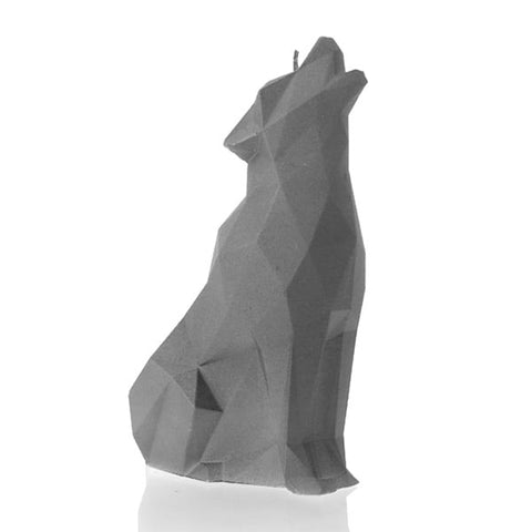 WOLF LOW POLY UNSCENTED CANDLE - Forkandpillow