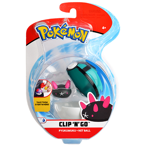 Pokemon Pokebola com Clips - LXMall