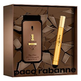 Perfume Kit Masculino 1 Million Privé Eau de Parfum 50ML Travel Spray 10ML - LXMall