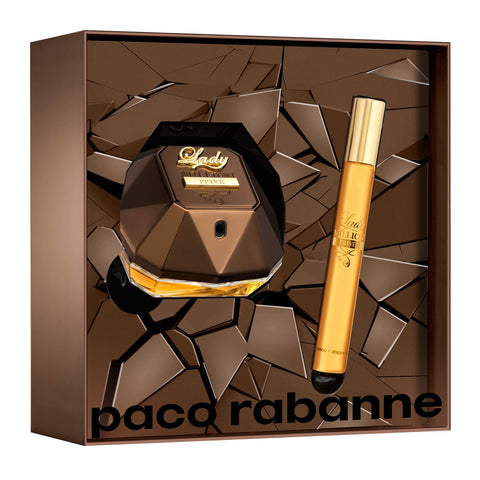 Perfume Kit Feminino Lady Million Privé Paco Rabanne Eau de Parfum 50ML  Travel Size 10ML - LXMall