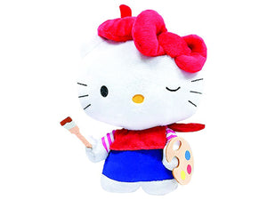 Pelúcia Hello Kitty Pintora - LXMall