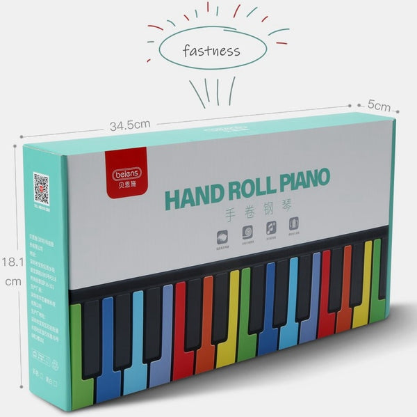 49 Teclas Teclado Digital Roll-up Piano - LXMall