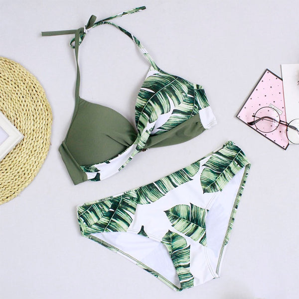 Biquíni Halter Push Up - LXMall