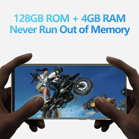Cubot P40 4GB+128GB-  Quad Camera 20MP Dual SIM Card - LXMall