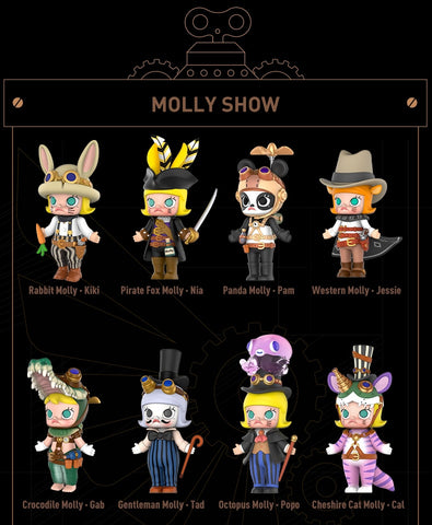 POP MART -  Molly Steam Punk - LXMall