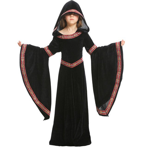 Fantasia Infantil Feiticeira Medieval - LXMall