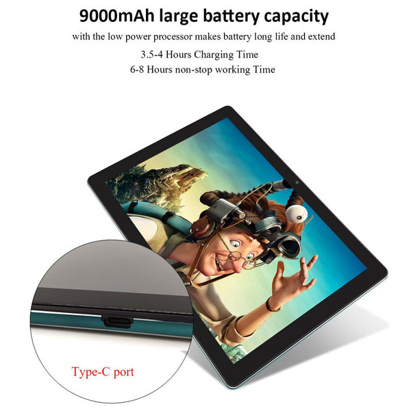 "Tablet ANRY K30 10.6"" 4G Android 8.1 Deca Core 4GB ROM 128GB - LXMall"