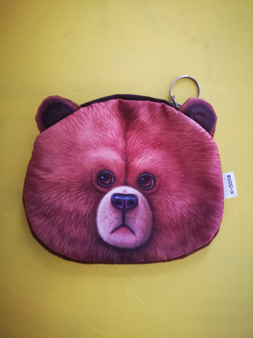 animal bear purse