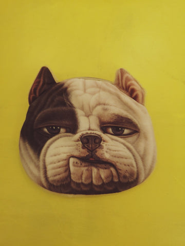 Animal bulldog Purse