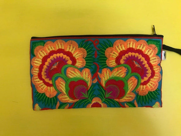 Bag Hmong embroidered Clutch bag Kwaito Koeksister