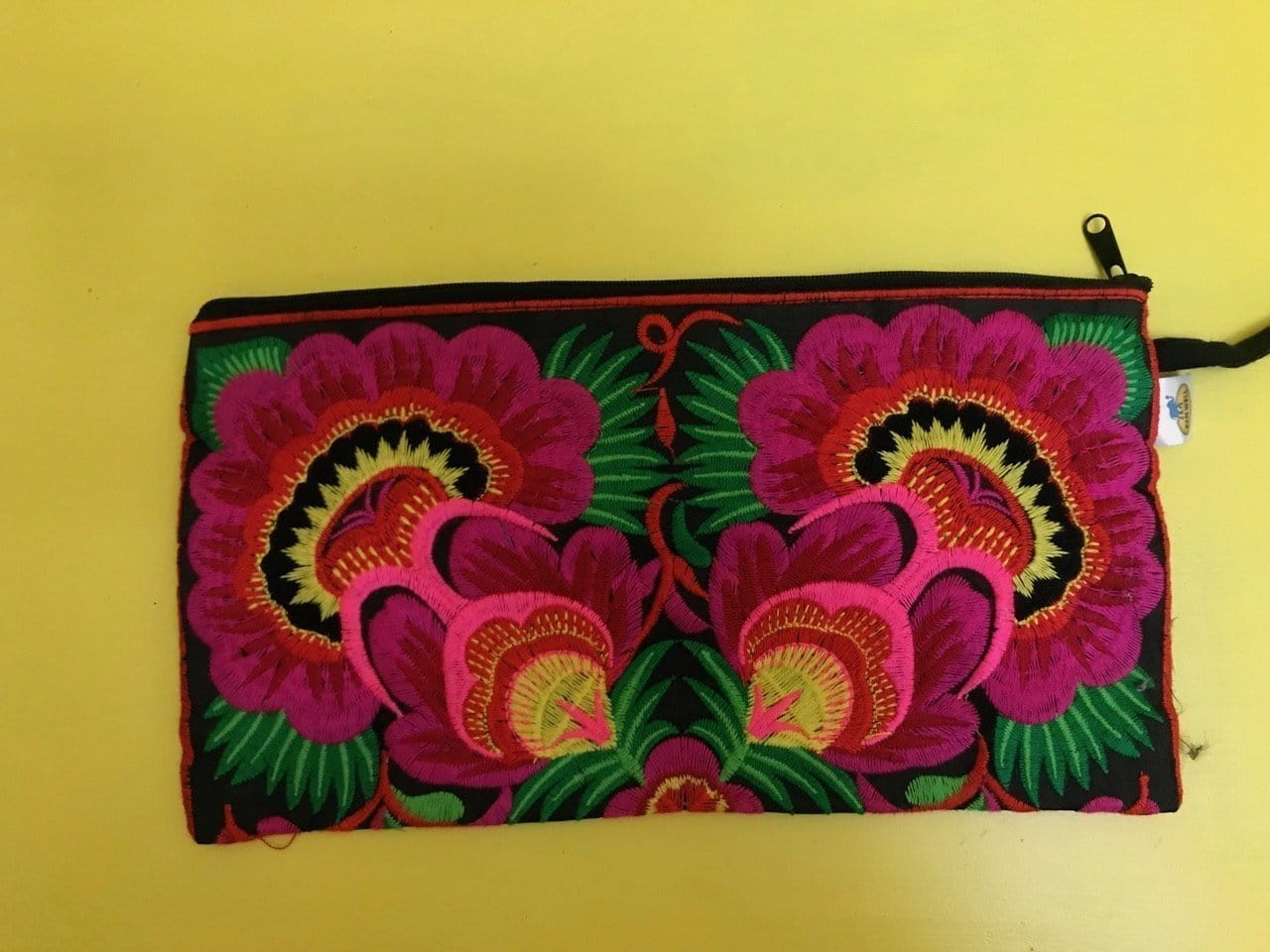 Hmong embroidered Clutch bag