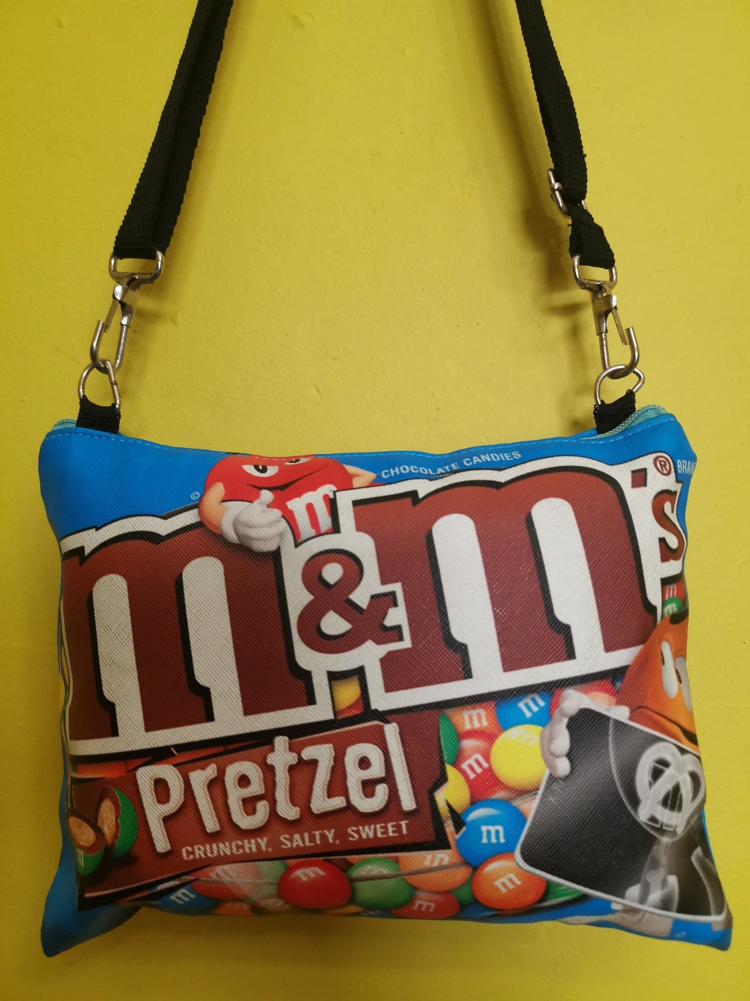 M&M Sling bag Blue Rectangle