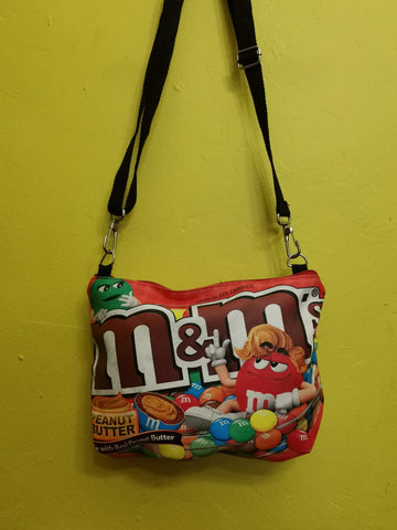 M&M Sling bag Red