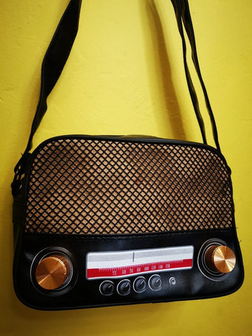 Retro Radio Small bag