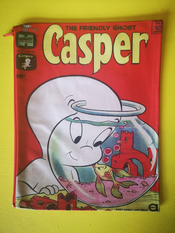 Casper cartoon cover clutch