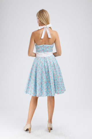 Vintage-inspired Pin-up Dress