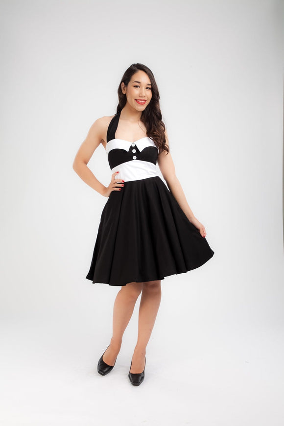 Vintage-inspired Pin-up Dress Dress Kwaitokoeksister