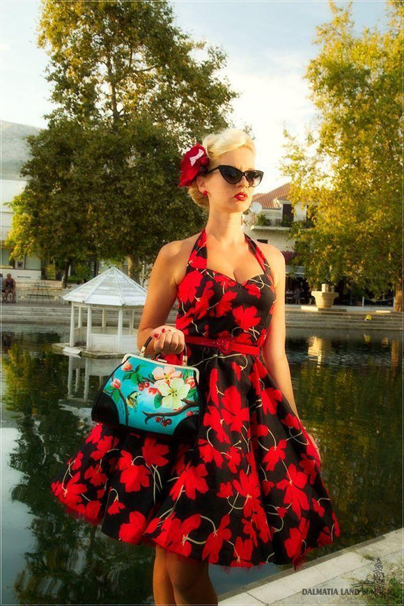 Dress Vintage-inspired Pin-up Dress Kwaito Koeksister