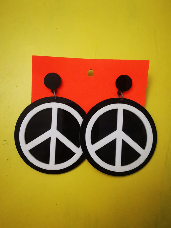 Earring Handmade Perspex earrings Kwaito Koeksister