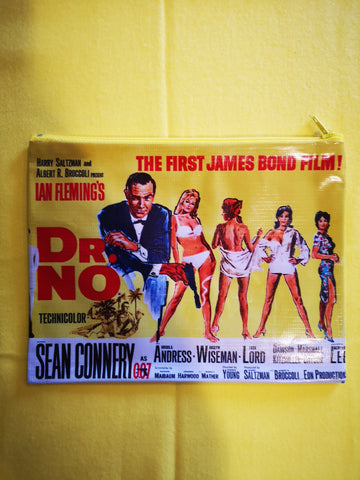 James Bond movie cover clutch