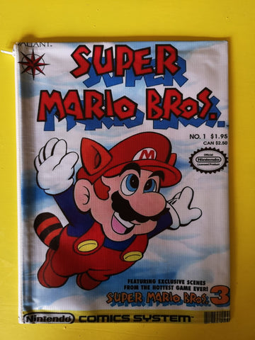 Mario Bros White cartoon cover clutch
