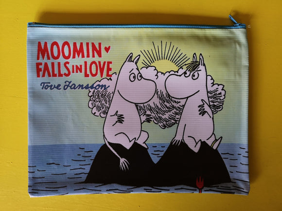 Moomin Blue Cartoon cover clutch  Kwaitokoeksister
