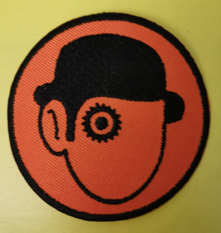 A Clockwork Orange Embroidered Iron on Patch