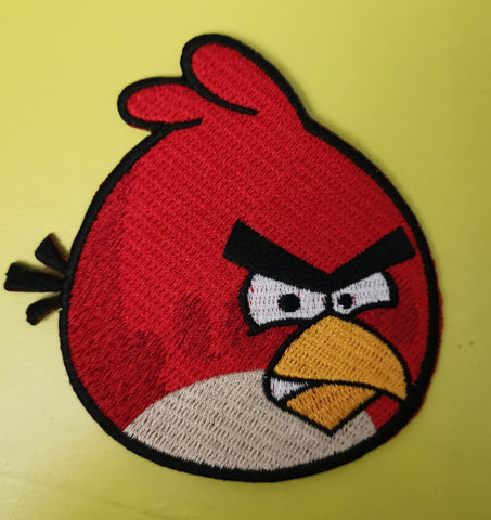 Angry Bird red Embroidered Iron on Patch