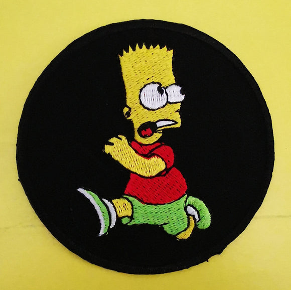 Patches Bart Simpson 4 Embroidered Iron on Patch Kwaito Koeksister